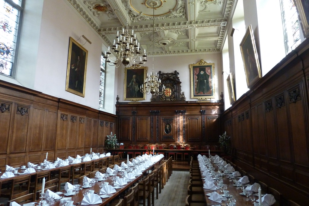 The Dining Hall Clare College Cambridge Paul Flickr