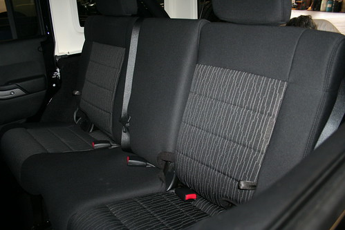 2011 Jeep Wrangler Unlimited Rear Seat 2011 Jeep