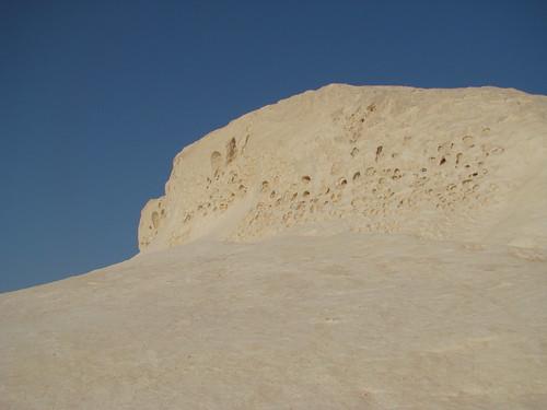 Erosión alveolar - White Desert (Egipto) - 01