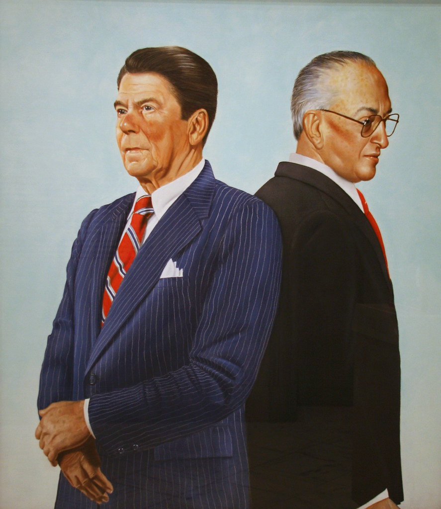 Ronald Reagan and Yuri Andropov, Time cover January 2, 198 ...
