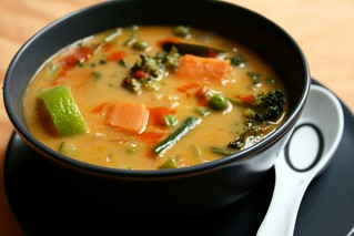 Thai Red Curry Vegetable Soup | by Kim | Affairs of Living