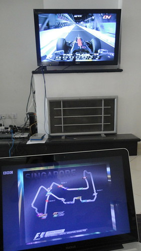 Poor Man's Picture-in-Picture Setup With F1 Driver Tracker | by iFranky