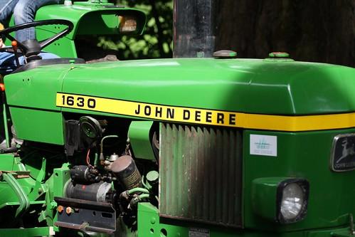 John Deere 1630 : John deere tractor spankeren nic