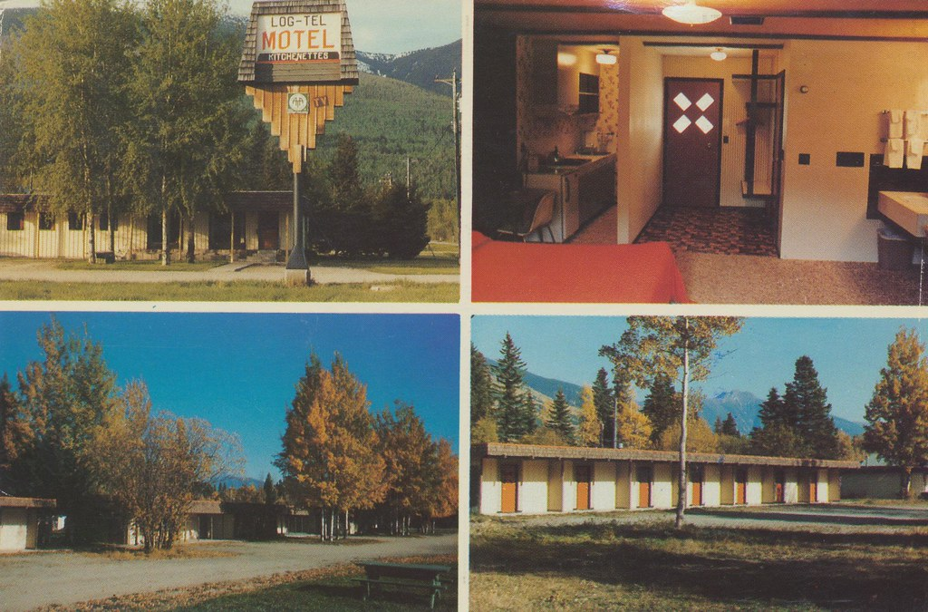 Log-Tel Motel - McBride, British Columbia