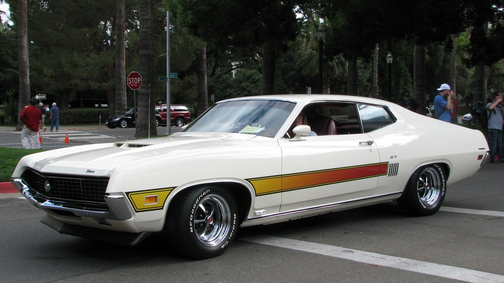 1970 Ford Torino GT 2 Photographed At The Capitol