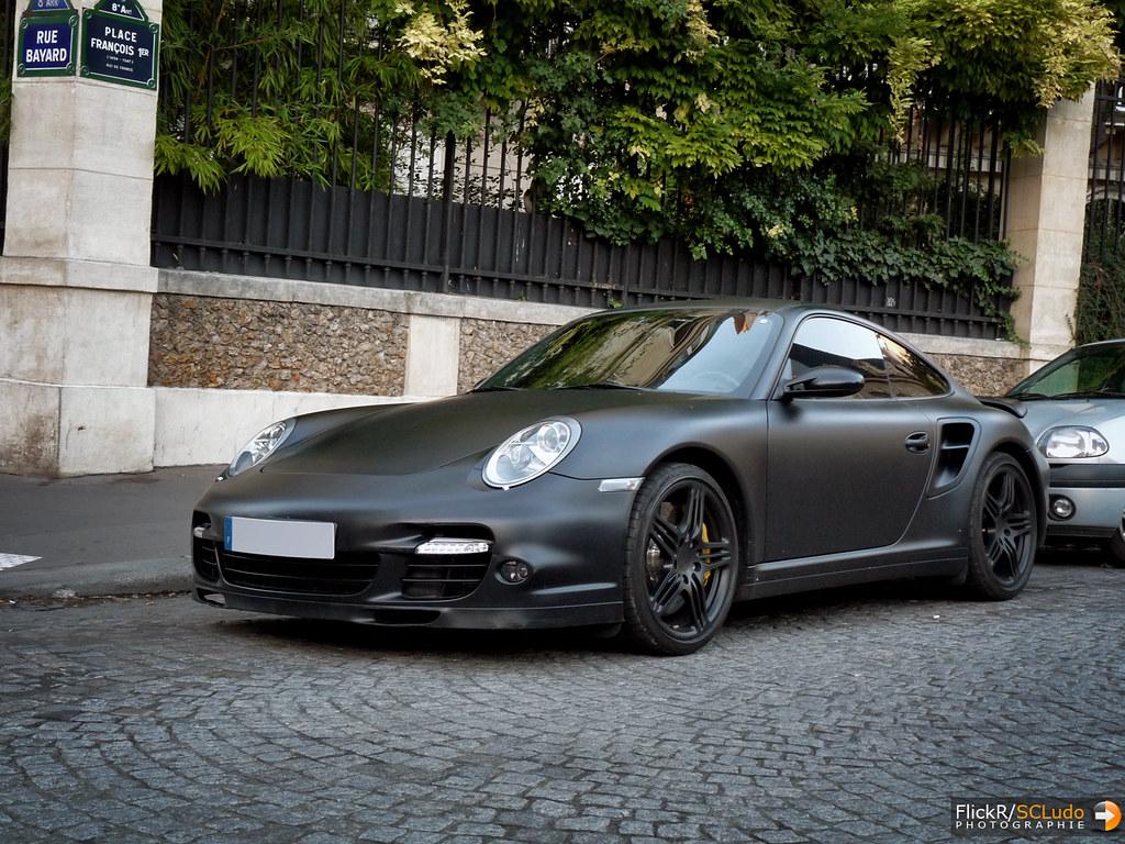 Porsche 911 Turbo 997 Matte Black Ludovic Scludo Com