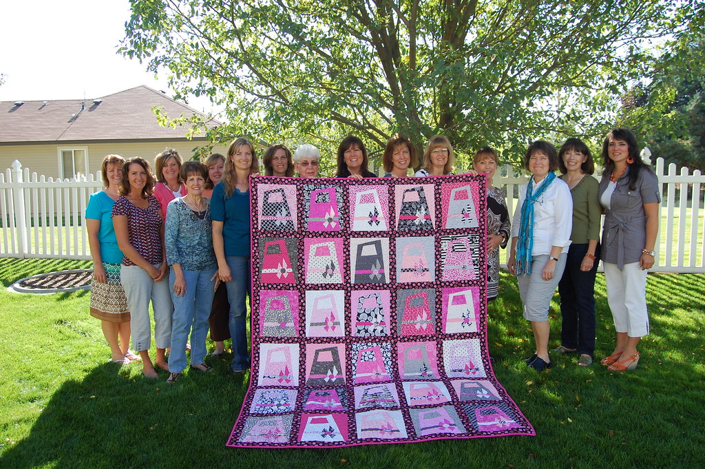 Breast Cancer Quilt Donation The E Quilt Material Girls Qu