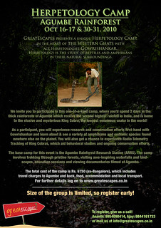 Herpetology Camp at Agumbe | by GreatEscapes India
