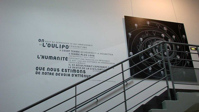 Oulipo Escalier De La Biblioth Que Exposition Oulipo Ju Flickr Photo Sharing