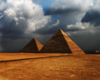 Khafre and Khufu's Great Pyramid | by janetfo747 ~ Pray for Peace