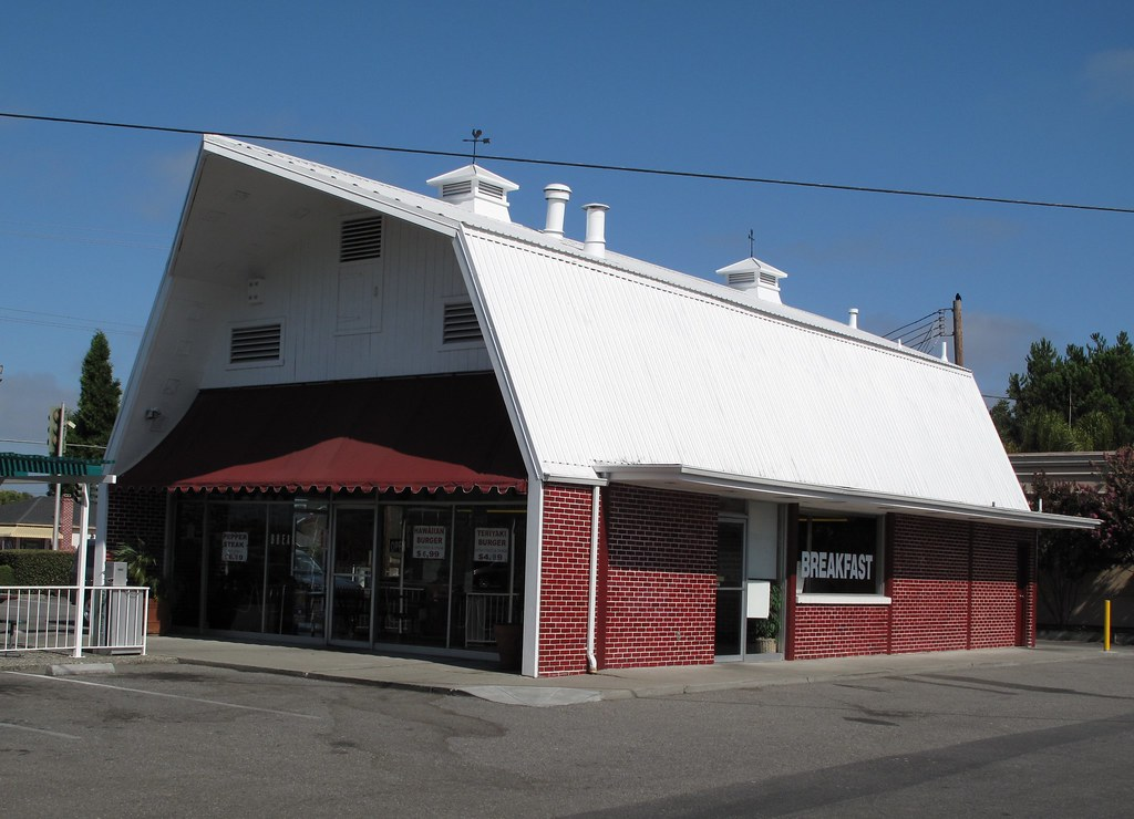 Red Barn Restaurant Located At 2485 Forest Ave San Jose