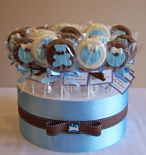 Como Decorar Cake Pops Para Baby Shower
