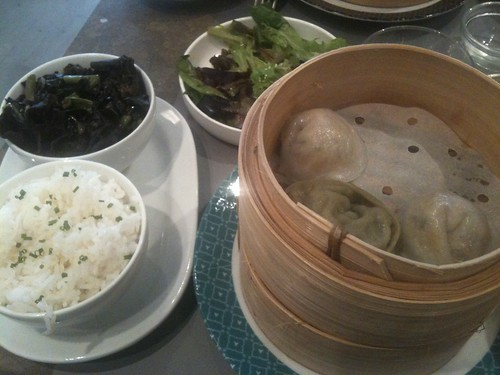 Yoom: Dim sum, black mushrooms and rice | by clotilde