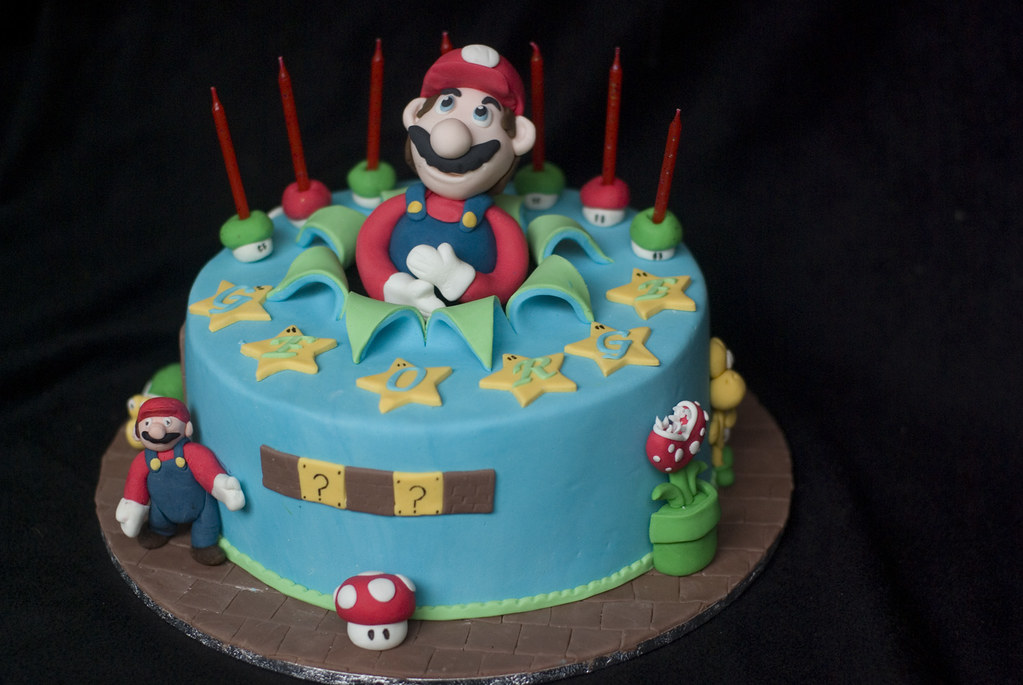 Mario Cake Pan Instructions
