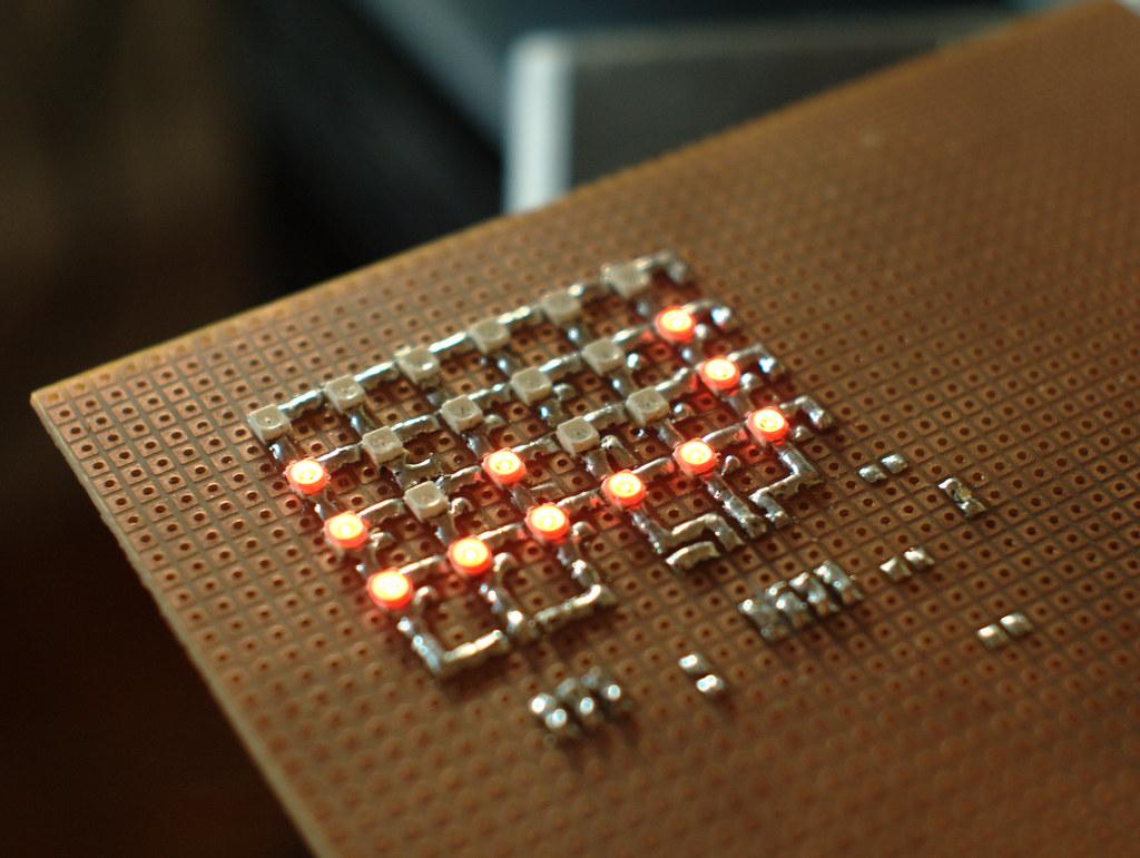 Arduino LEDs Binary Clock