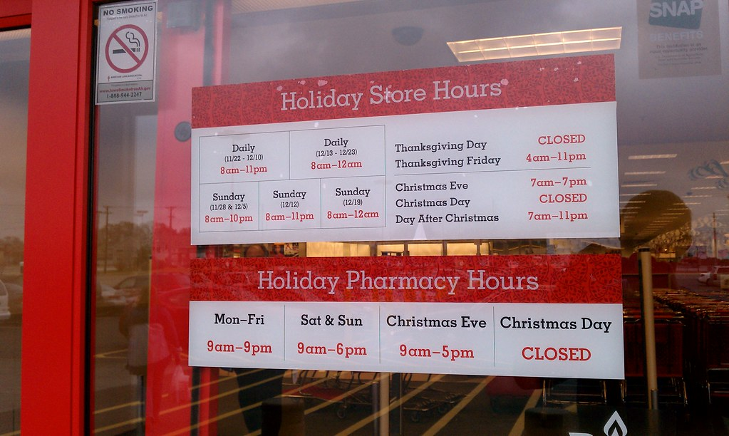 All sizes | Target - Ames, Iowa - Holiday Store Hours | Flickr ...