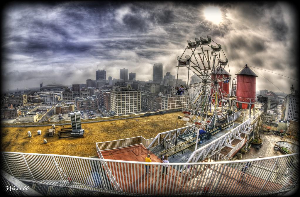 City Museum Rooftop Ferris Wheel 1 The City Museum In