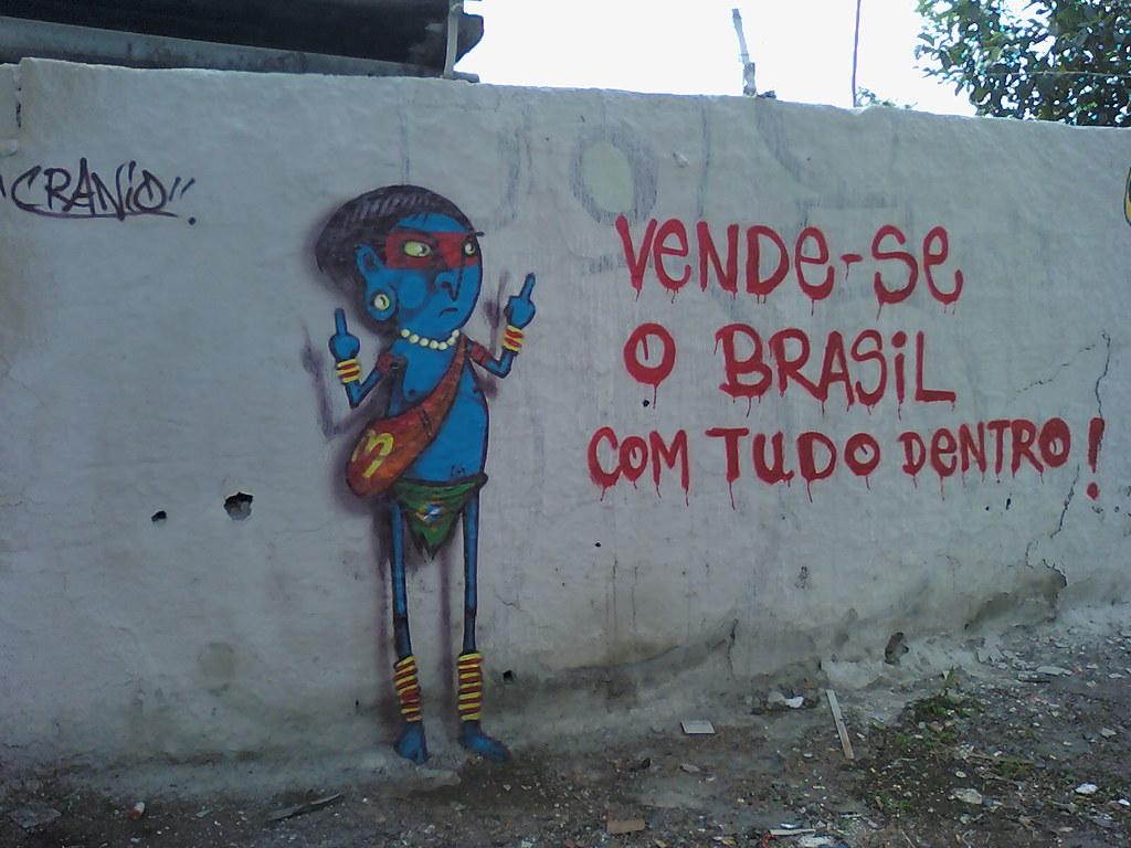 Resultado de imagem para imagem vende-se o brasil com tudo dentro