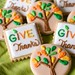 give thanks sugar cookies