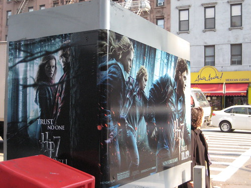 hp7 harry potter seven pt1 movie billboard phone booth 9
