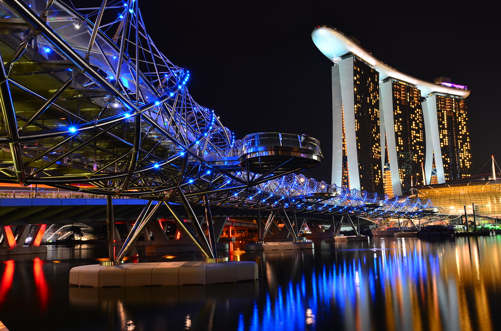 Mbs And The Helix Bridge Singapore Testing The New D7k
