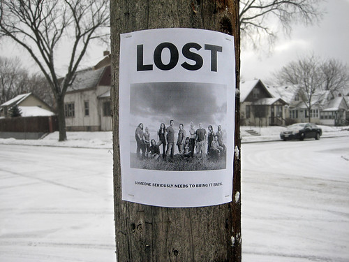 Lost Lost Sign | by phildesignart