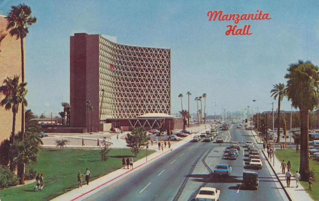 Manzanita Hall At Arizona State University Tempe Arizon