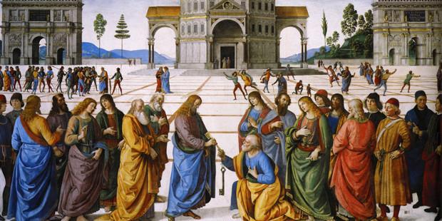 San Pedro y las llaves