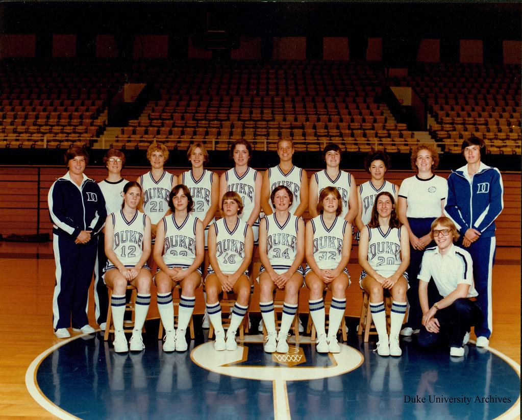 Duke University Basketball >> Women's Basketball Team, 1978-1979 | Repository: Duke Univer… | Flickr