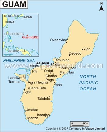 Guam Map | www.mapsofworld.com/guam/guam-political-map.html | Manoj ...