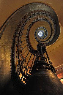 Mechanics' Institute Library Spiral Staircase - San Francisco | by DeeMakMak