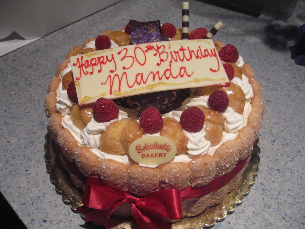 St Honore Cake Bon Bon Bakery