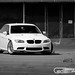 Supercharged E90 BMW M3 on BBS LM's  - 8781