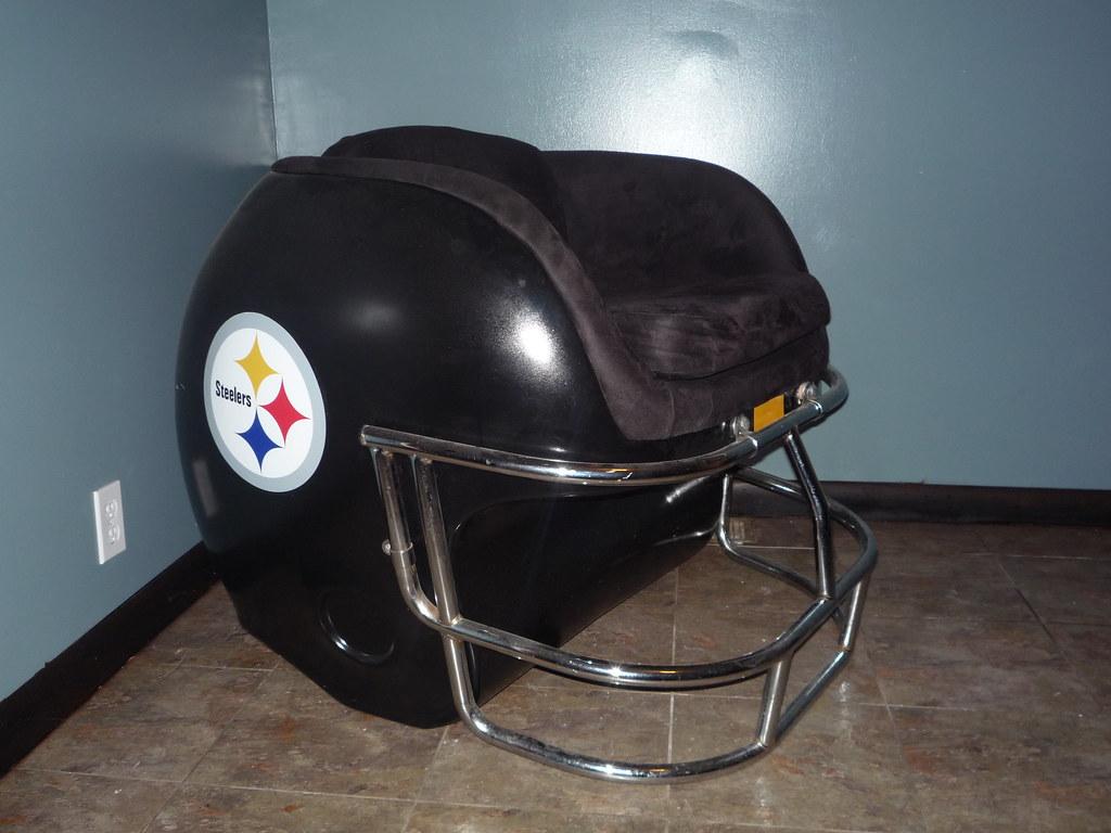 Steelers Helmet Chair   By Futureman3030 Steelers Helmet Chair   By  Futureman3030