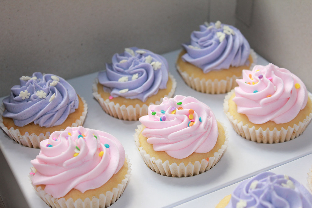 pink and purple cupcakes kristine camille monteras flickr