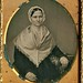 1/6th-Plate Daguerreotype of a Shaker or Quaker Woman, circa 1850