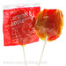 Tootsie Caramel Apple Pops - Red Delicious
