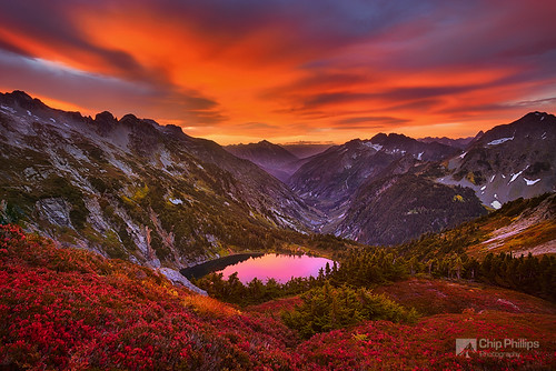 North Cascades Sunrise | by Chip Phillips