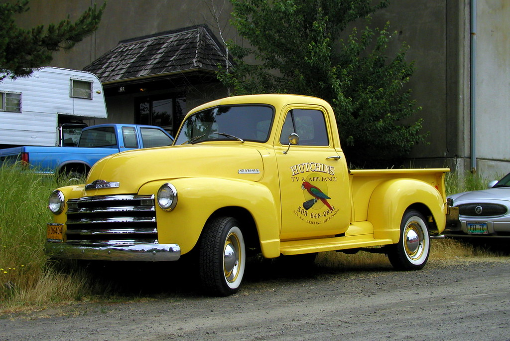 New Chevy Truck >> 1949 - 53 Chevy Pickup (CC)   Car Show in Sherwood Oregon. O…   Flickr