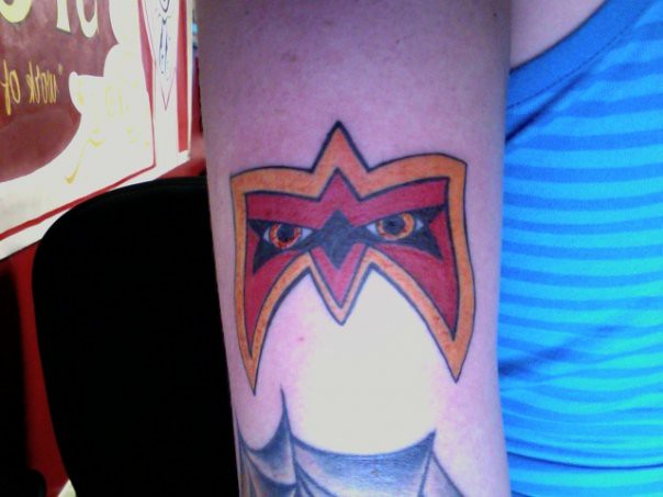 Ultimate Warrior Tattoo Ultimate warriorUltimate Warrior Symbol Tattoo
