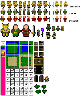 Rpg Sprites Just A Random Off Project They Re Just 1