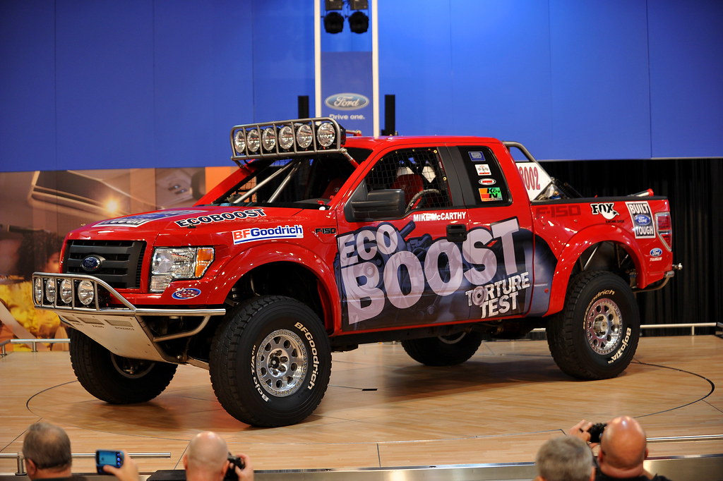 2011 ford f 150 off road race turck unveiled dallas tx for Ford motor company kansas city mo