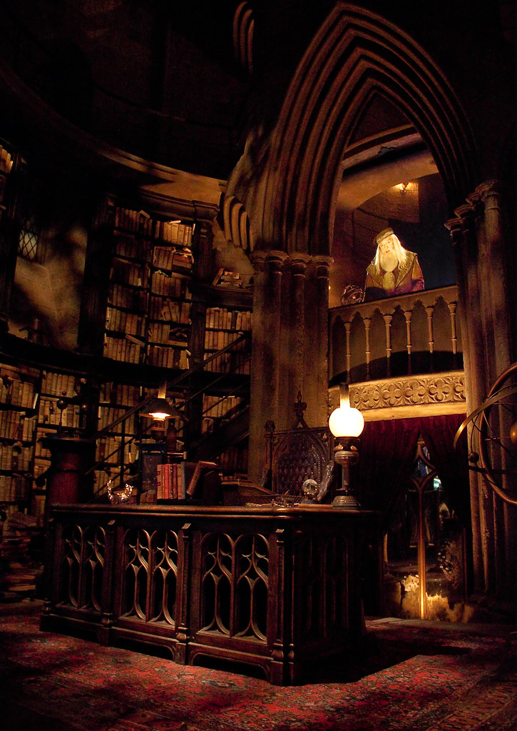 Captivating ... The Wizarding World Of Harry Potter: Dumbledoreu0027s Office | By Scott  Smith (SRisonS)