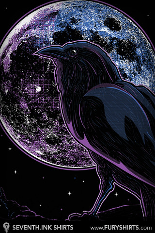 Raven Of Nevermore IPhone Wallpaper