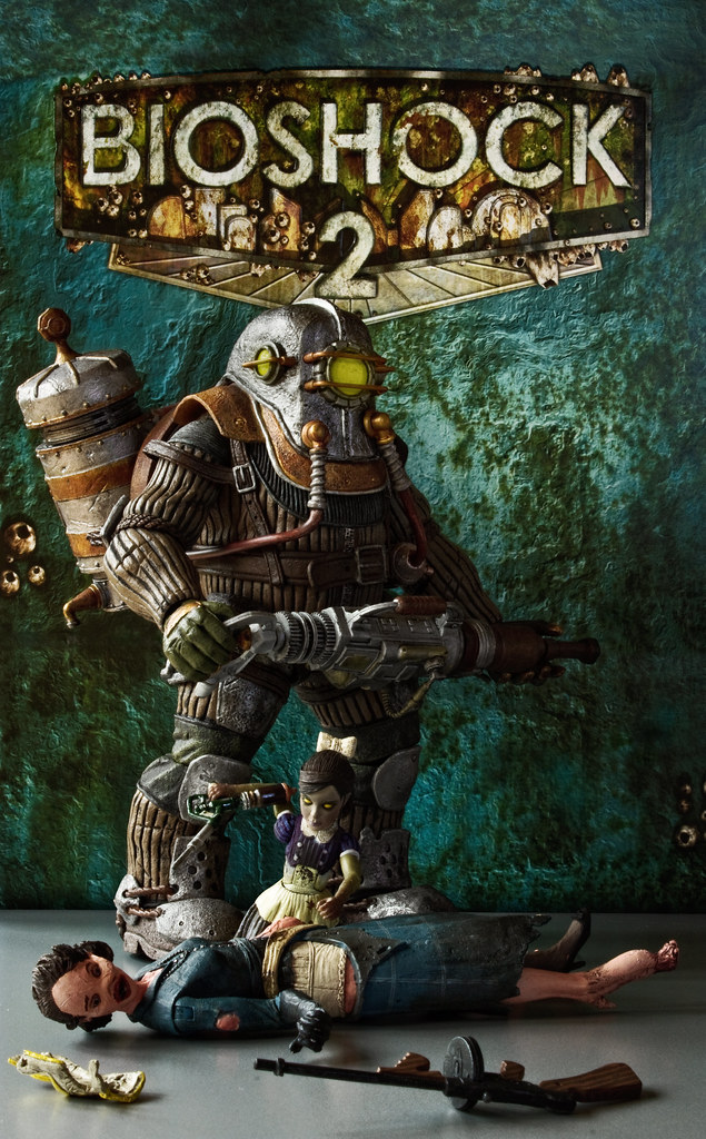 Neca big daddy rosie neca bioshock 2 series big daddy for Big daddy s antiques