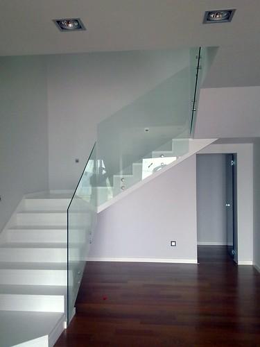 Barandilla de cristal barandilla de vidrio templado de for Cristaleria benissa