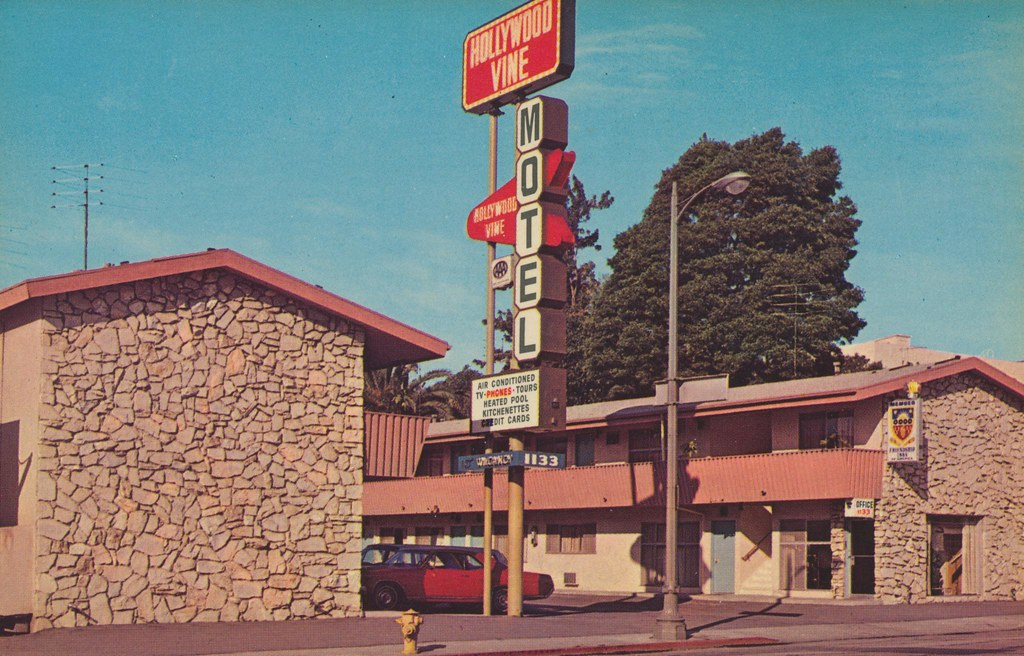 Hollywood Vine Motel - Hollywood, California