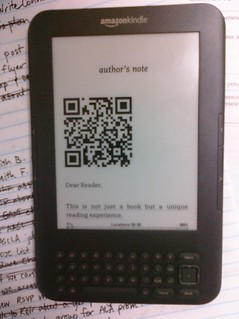 QR codes at the beginning of each chapter of the book I'm reading | by The Shifted Librarian