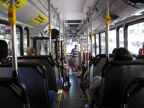 Interior Volvo B12BLE Euro 5 Sydney Bus, Sydney, NSW. | Flickr