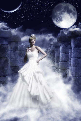 Selene, the Moon goddess | by Heida HB